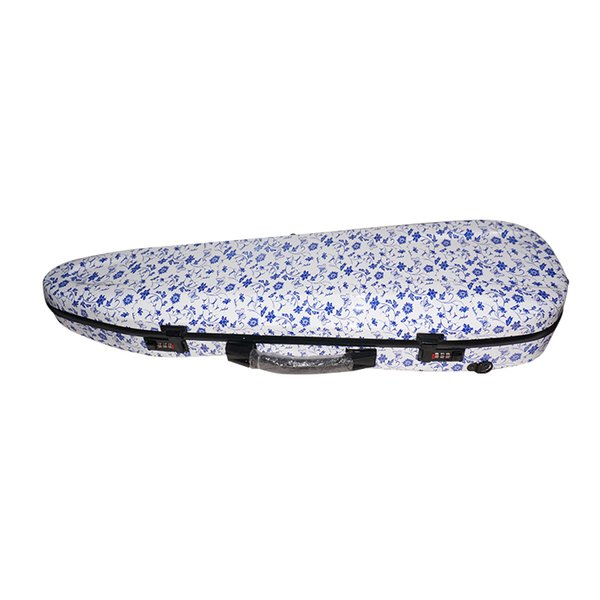 The violin box of blue and white porcelain composite carbon fiber 4/4 violin case of super light pressure