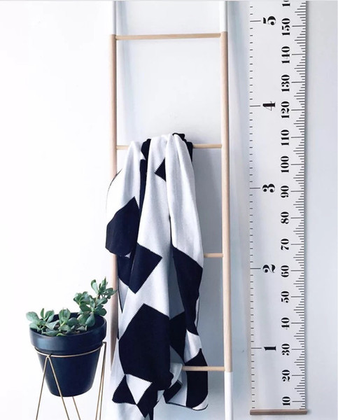 best selling Children Height Ruler Hanging Decoration INS simple Adult Kids Growth Size Chart Measurement Ruler Wall Sticker Home Decorative Gift