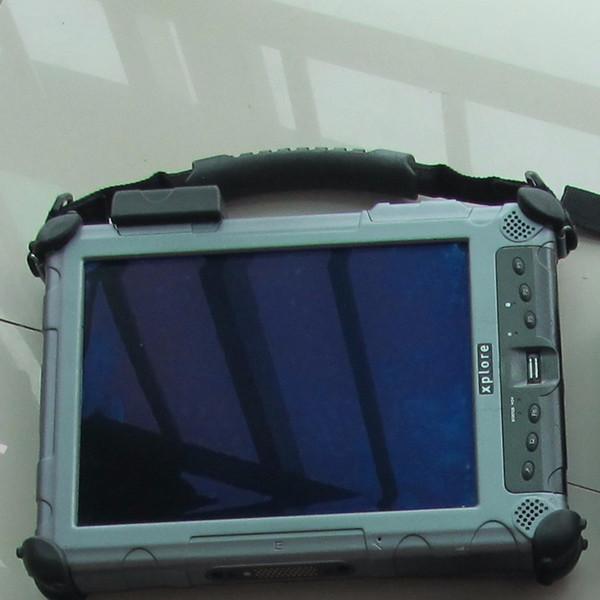 tablette windows 10 xplore ix104 tablette i7 cpu c5 ram 4g voiture ordinateur portable de diagnostic avec 128gd
