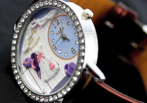 Hot Selling Romantic Wedding fashion watches women rhinestones dress s girl cartoon watch Fashion Watches Cheap