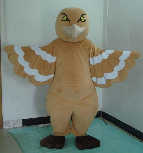 SM0424 um traje da mascote do pássaro da coruja para que o adulto vista