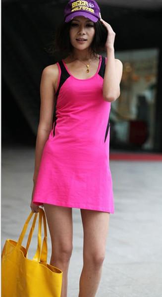 2017 Women Tennis Dress Sport Pink Tennis Dresses Badminton Dress ...