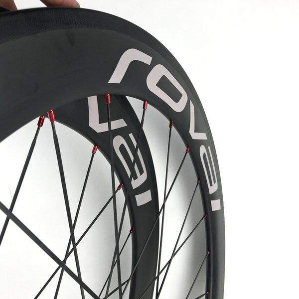 Carbon Fiber Road Bike Clincher 60mm Wheels China Carbono Fibre Aero 700C Wheel