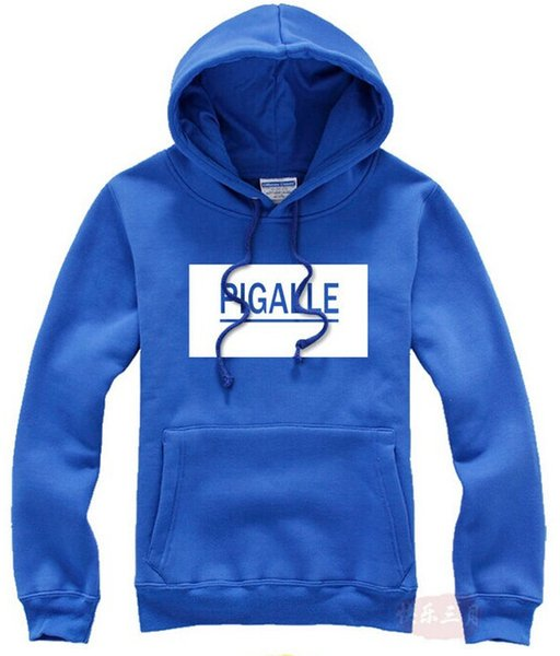 Casual Hoodie Hip Hop Men Harajuku Men Sportswear Long Sleeve Hat PIGALLE Print Sweatshirts Hoodie Tracksuit Male 6 Colors