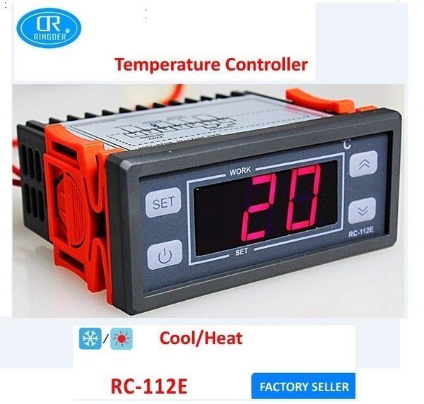 relay switch universal digital temperature controller regulator thermostat ringder rc 112e 100v 240v 10a 40 990c cool heat