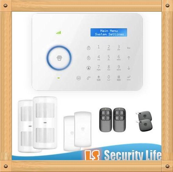 Venta caliente Chuango B11 doble red PSTN y GSM antirrobo sistema de alarma de seguridad CG00300kit