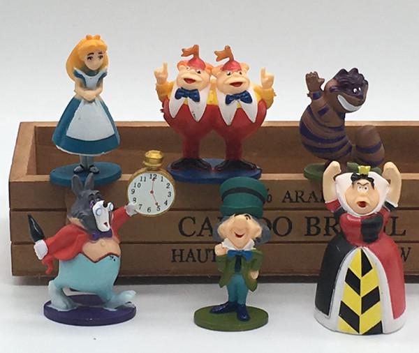 30 шт. (5 компл.) Алиса в Стране Чудес бонсай фигурки миниатюрные для террариумов орнамент мини jardim античный кукольный домик игрушки
