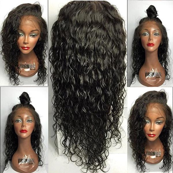 Unprocessed Brazilian Lace Front Wigs Natural Wave Full Lace Human Hair Wigs 8A Grade Short Wig Human Hair For Women With Baby Hair