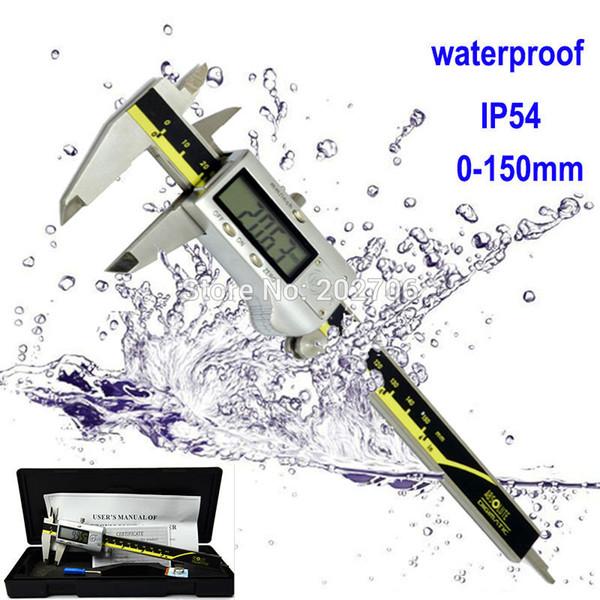 Calibro digitale del calibro del calibro di Vernier di Digital di alta qualità di IP54 del calibro digitale di alta qualità all'ingrosso-0-150mm