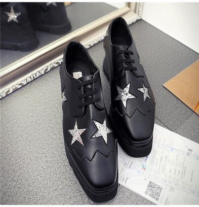 balck with silver star