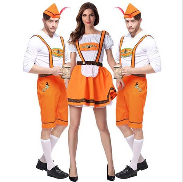 2017 New Arrival Oktoberfest Beer Lovers Suit Sexy Cosplay Halloween Costumes Uniform Temptation Club Party Clothing Hot Selling