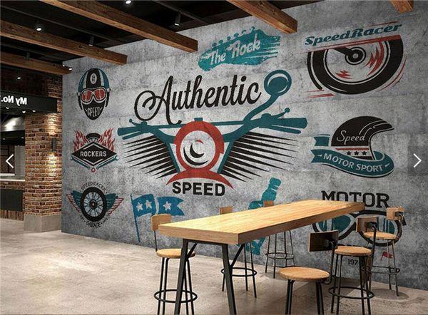 Großhandel Europäische Vintage Tapete Graffiti Foto Wandbild Landschaft Für  Wohnzimmer Restaurant Shop Wand Kunst Dekor Retro Tapeten Von Fumei168, ...