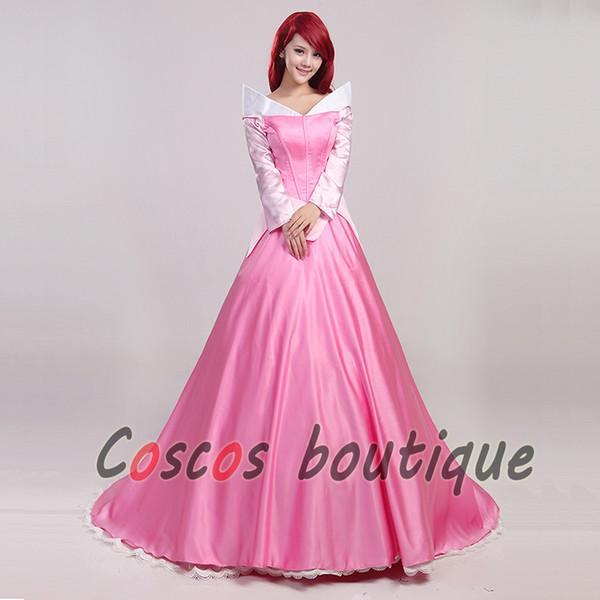 Compre Vestido De Fiesta De La Bella Durmiente De La Princesa Aurora Vestido De Fiesta De Disfraces Mujeres Para Niños A 8832 Del Magicboutique