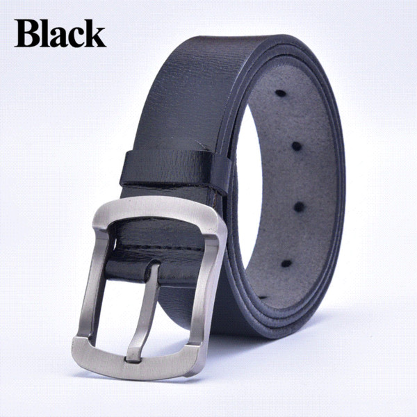 2015 nouvelle boucle ardillon noire haute ceinture hommes en cuir véritable design vintage de luxe de la mode de qualité ceintures peau de vache Cinto libre