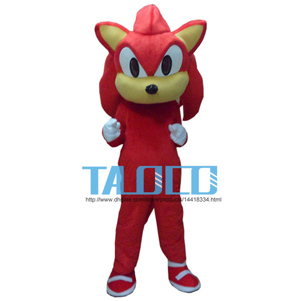f03502222 Compre Sombra El Erizo Traje De La Mascota De Sonic Negro Vestido De Lujo  Adulto Envío Gratis A $142.14 Del Luolikang | DHgate.Com