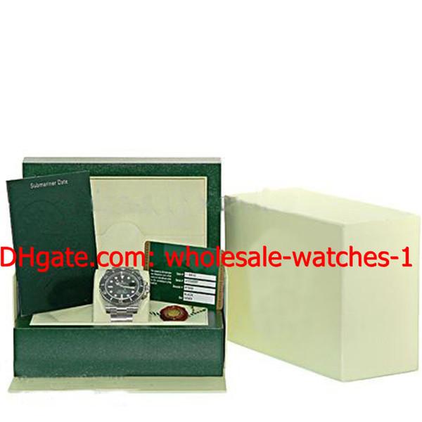 Venta al por mayor - Relojes de lujo para hombre Perpetual Cerámica Inoxidable # 116610 Serie G Papeles Serie