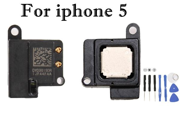 Earpiece Ear Piece Sound Speaker Listening Replacement Parts for Apple iPhone 4G 4S 5G 10pcs Lot Free shipping