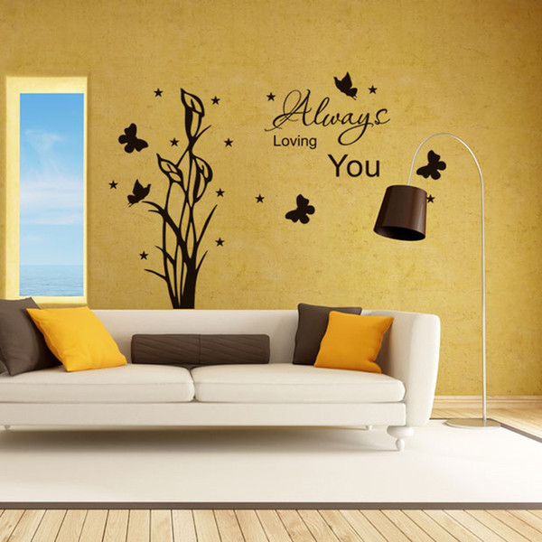 Original Always Loving You Quote Pvc Removable Wall Decals/ Hot