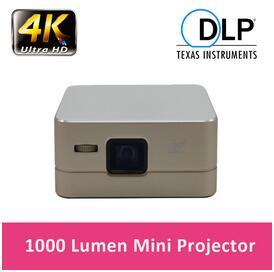 Factory Price!!! Newest Fashion Design P96 Mini DLP Projector 1080P Android 4.4 WiFi USB HDMI 100 LM Built in Speaker DLP Projector