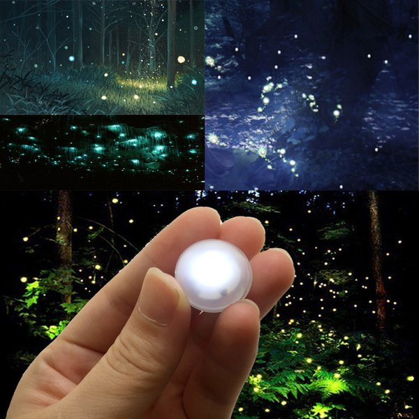 Holiday Party Decorations 12 Colors Available Ball-shaped LED Fairy Pearls Lights 3/4inch Diameter 2CR1220 Lithium Coin Cell Batteries Power