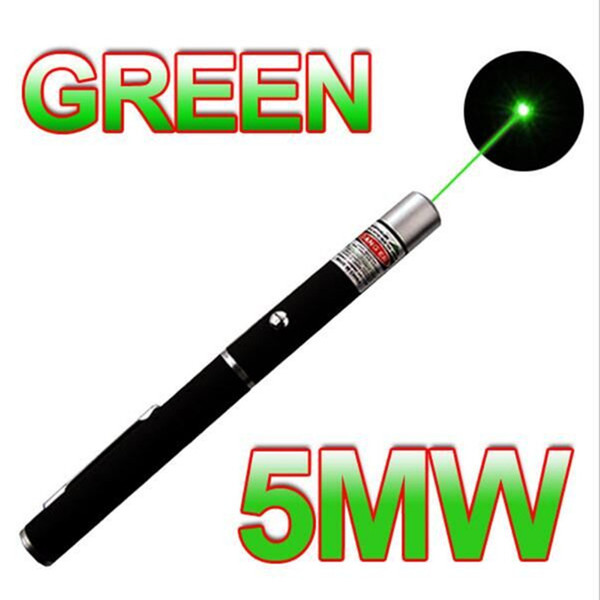 laser pointer pen green light laser pen 5mw 532nm beam for sos mounting night hunting teaching xmas gift opp package wholesales 50pcs/lot