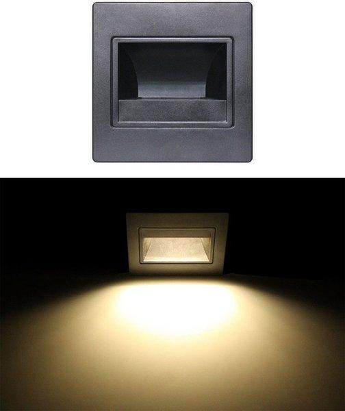 Black warm white lights