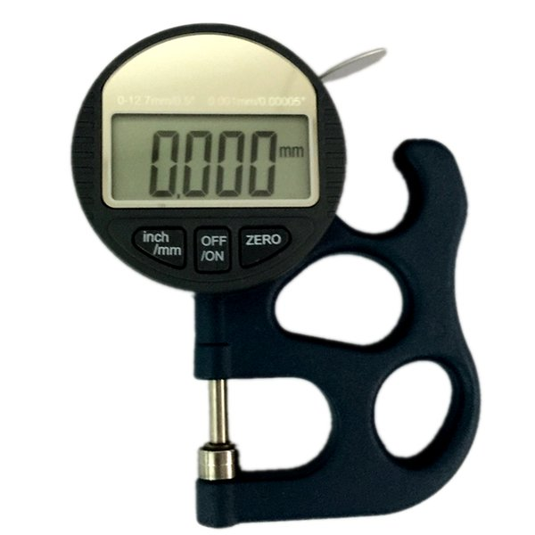 2019 Precise 0 001mm Micron Digital Thickness Gauge Meter 0 10mm Electronic  Micrometer Thickness Tester Width Measuring Tools With Data Out From
