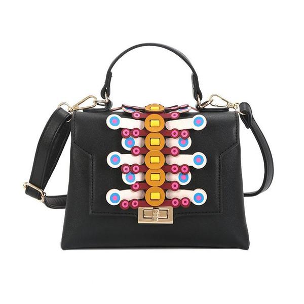 Bolsas de luxo Mulheres Sacos Famosa Marca Designer Bag Feminino PU de Couro Nova Tecelagem Moda Bolsa de Ombro Crossbody Senhoras Bolsa Tote Bags