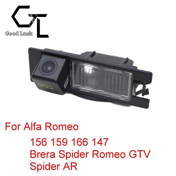 For Alfa Romeo 156 159 166 147 Brera Spider Romeo GTV Spider AR Wireless Car Auto Reverse Backup CCD HD Rear View Camera