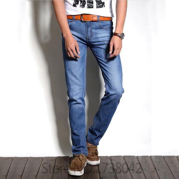 Jeans de la marca de moda de los hombres Jeans de la moda de los pantalones vaqueros apeados
