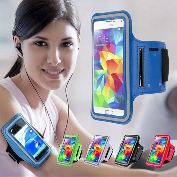 Para Iphone X Impermeable Deportes Running Armband Case Workout Armband Holder Pounch teléfono móvil bolsa de brazo Band DHL libre SCA357