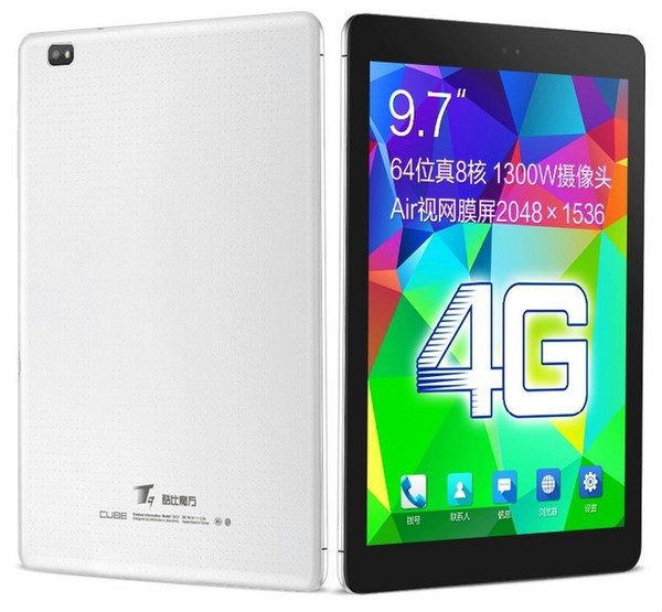Cube T9 4G FDD LTE Phone Call Tablet PC 9.7 Inch 2GB RAM 32GB ROM MTK8752 Octa Core 2.0GHz Android 4.4 IPS 1920*1200 GPS WIFI