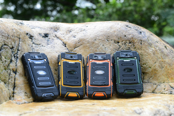 best selling Discovery V8 Waterproof Cell Phone Quad Core MTK6582 3G GPS 4.0inch Screen 1.3GHZ 5MP Dustproof Shockproof Outdoor Phone