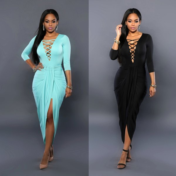 Long sleeve night out dress