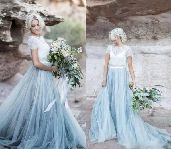 Discount Vestido De Noiva 2017 Country Beach A Line Wedding Dresses ...
