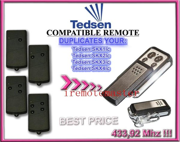 2 pieces/lot! Top quality and Compatitive price For Tedsen SKX1LC/SKX2LC/SKX3LC/SKX4LC remote control