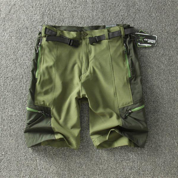 Großhandel-Ausverkauf Außenhandel Männer Outdoor Wandern Shorts Sommer Dünne Quick Dry Shorts Sport Klettern The Mountain Fifth Short