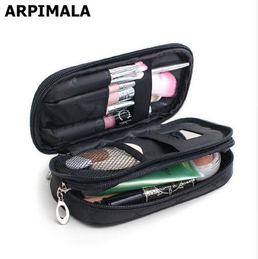 Cosmetic Bags Makeup Bag Women Travel Organizer Professional Storage Brush Necessaries Make Up Case Beauty Toiletry Bag