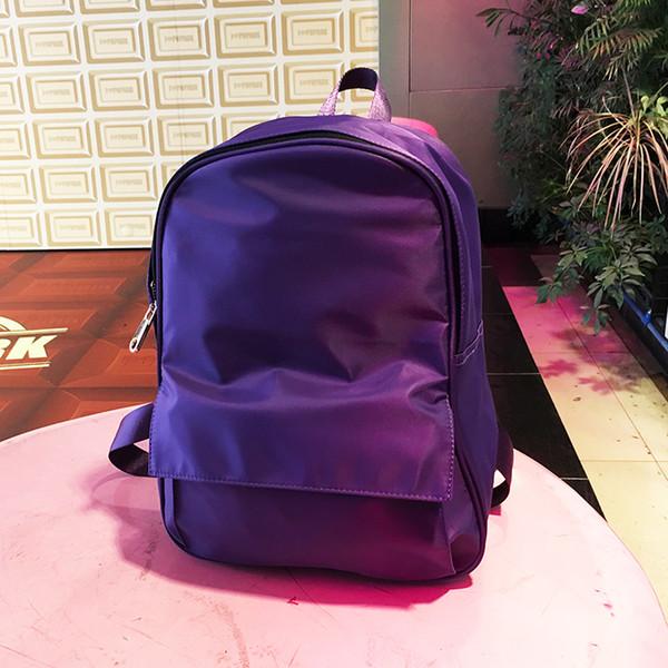 top popular New Design Waterproof Nylon Minimalism Girl Casual Backpack Travel Bag Women Bag Female Shoulder Outdoor bag 2019