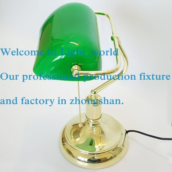 Vintage bank table lamps retro brass bankers lamp green glass vintage bank table lamps retro brass bankers lamp green glass lampshade office study room table lamps aloadofball
