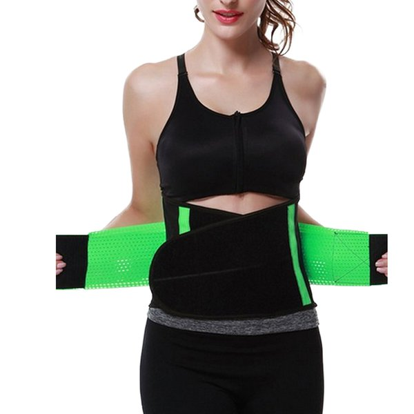 Wholesale- Hot Lady Waist Tummy BodyShapers Waist Trainer Body Shaper For Ladies Underbust Control Corset Fajas For Lose Weight Belt