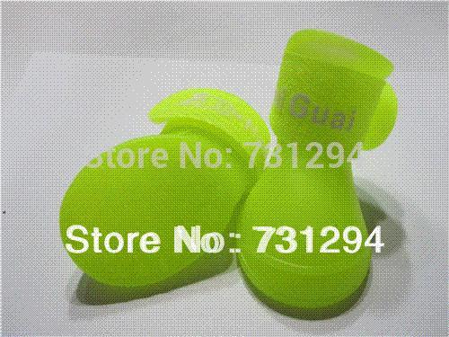 Pet обувь для собак дождь обувь желтый Pet дождь сапоги,водонепроницаемый производительность дешевые водонепроницаемый разъем высокое качество водонепроницаемый военные сапоги