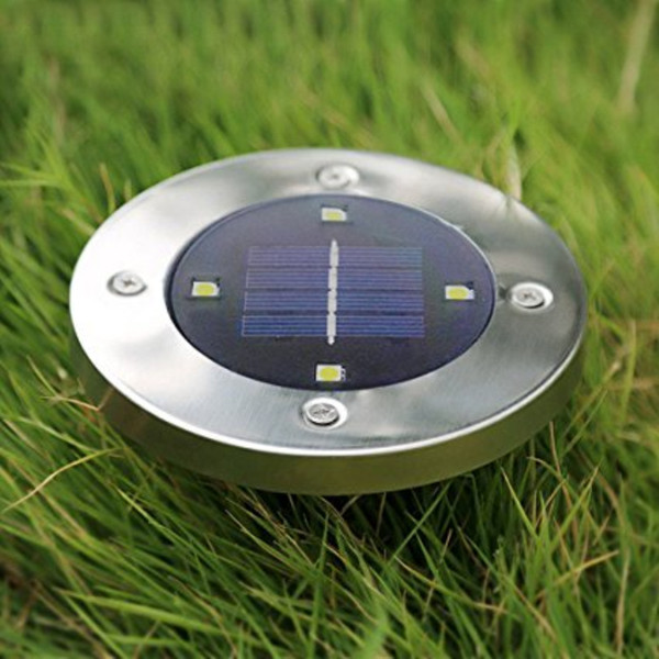 8 LED Solar Power Buried Licht Bodenleuchte Outdoor Weg Weg Garten Terasse IP65