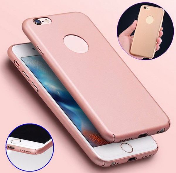 Case Frosted Contracted type Silicone Plastic Phone Case for iPhone 6 6s Freeshipping