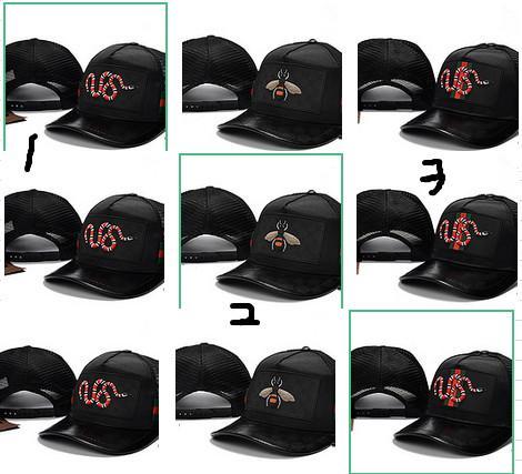 Snake Cap Tigers Snapback Baseball Caps Leisure Hats Bee Snapbacks Hats outdoor golf sports hat for men women
