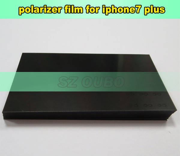 100% Original LCD Polarizer Film Polarization Polarized Light Film For iPhone 7 Plus 5.5inch 100pcs/lot