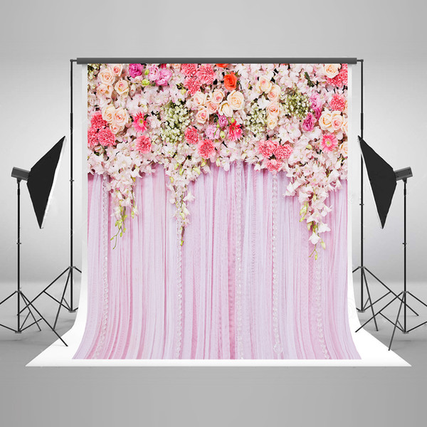 2019 Photo Background Wedding Backdrop 10ft Pink Photography Backdrops Floral Backdrop For Fundo Fotografico Para Estudio From Guiy 3859