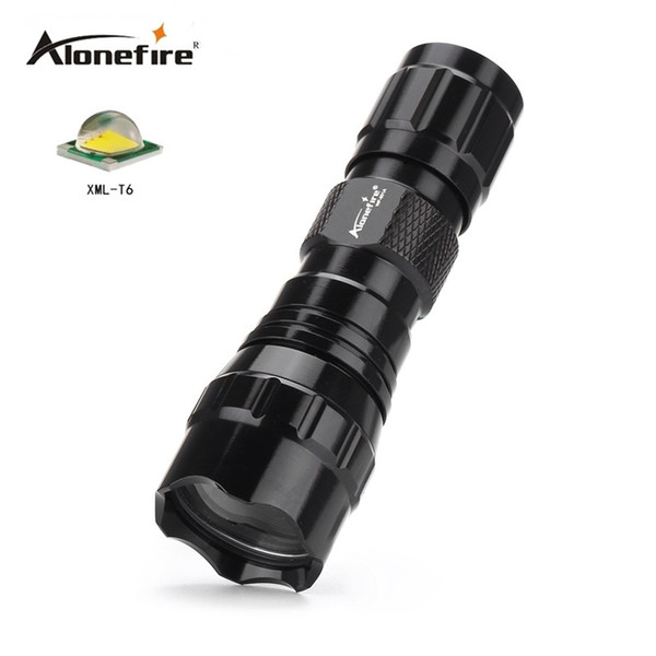 501A Mini LED Flashlight CREE XML-T6 Waterproof Lanterna LED Torch for 16340 CR 123A battery Flashlight Linterna led