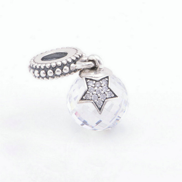 Christmas White charms thread S925 sterling silver material fits pandora bracelets antique free shipping ale LW410H9