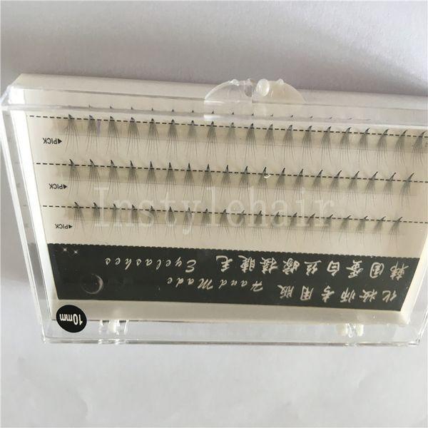 Wholesale Eye Lashes Extension Soft And Comfortable Grafting Individual False Eyelash Makeup Cluster Eye Lashes Extensions